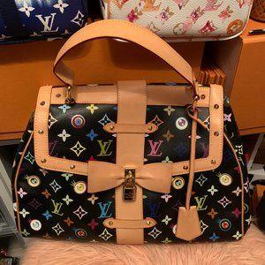 Louis Vuitton Eye Love You Multicolore Black Bag